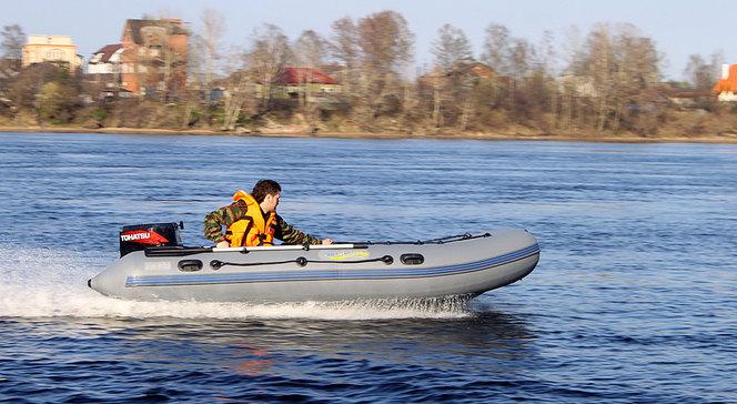 настройка скорости лодки